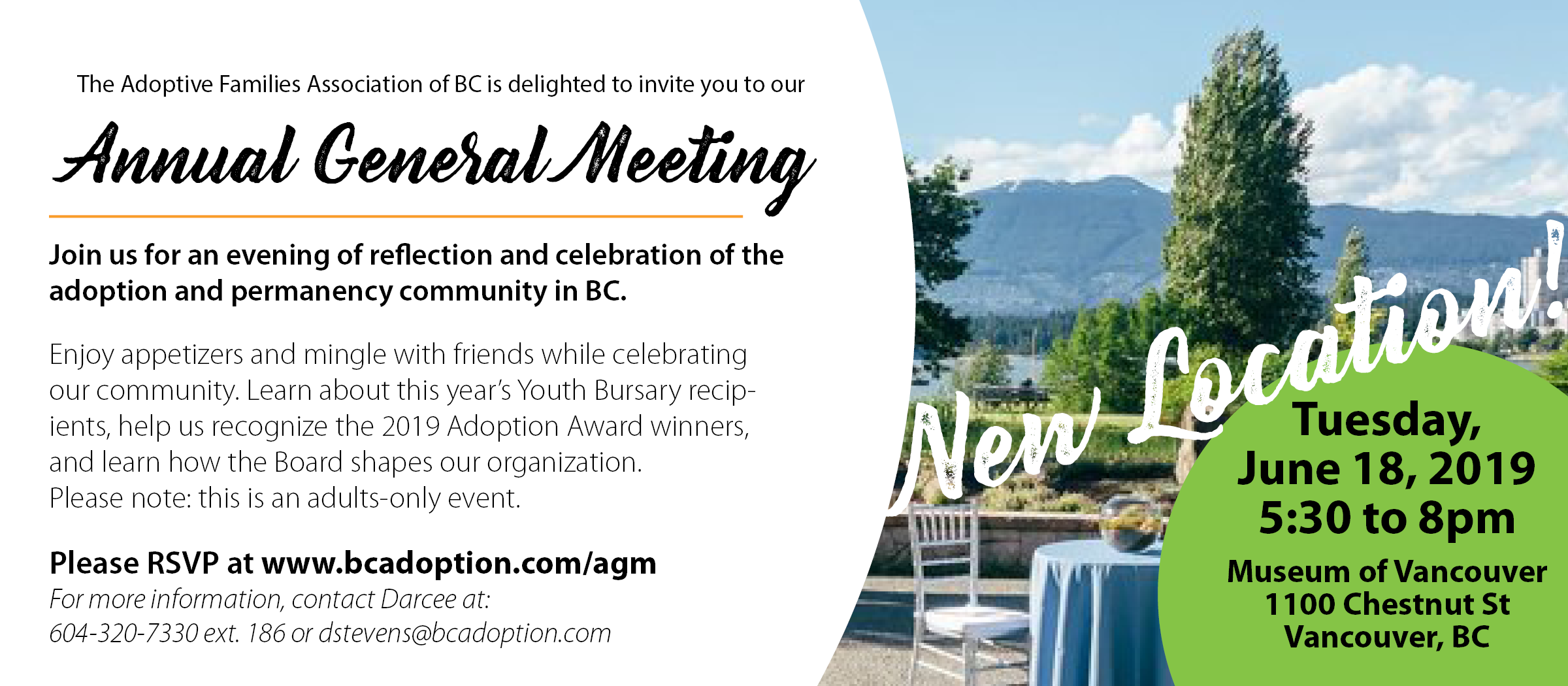 You're invited to our Annual General Meeting