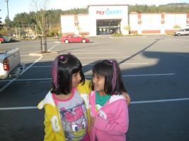 The two Akhavan daughters