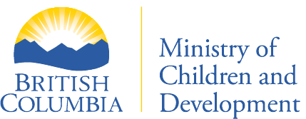 Ministry of Children and Family Development logo