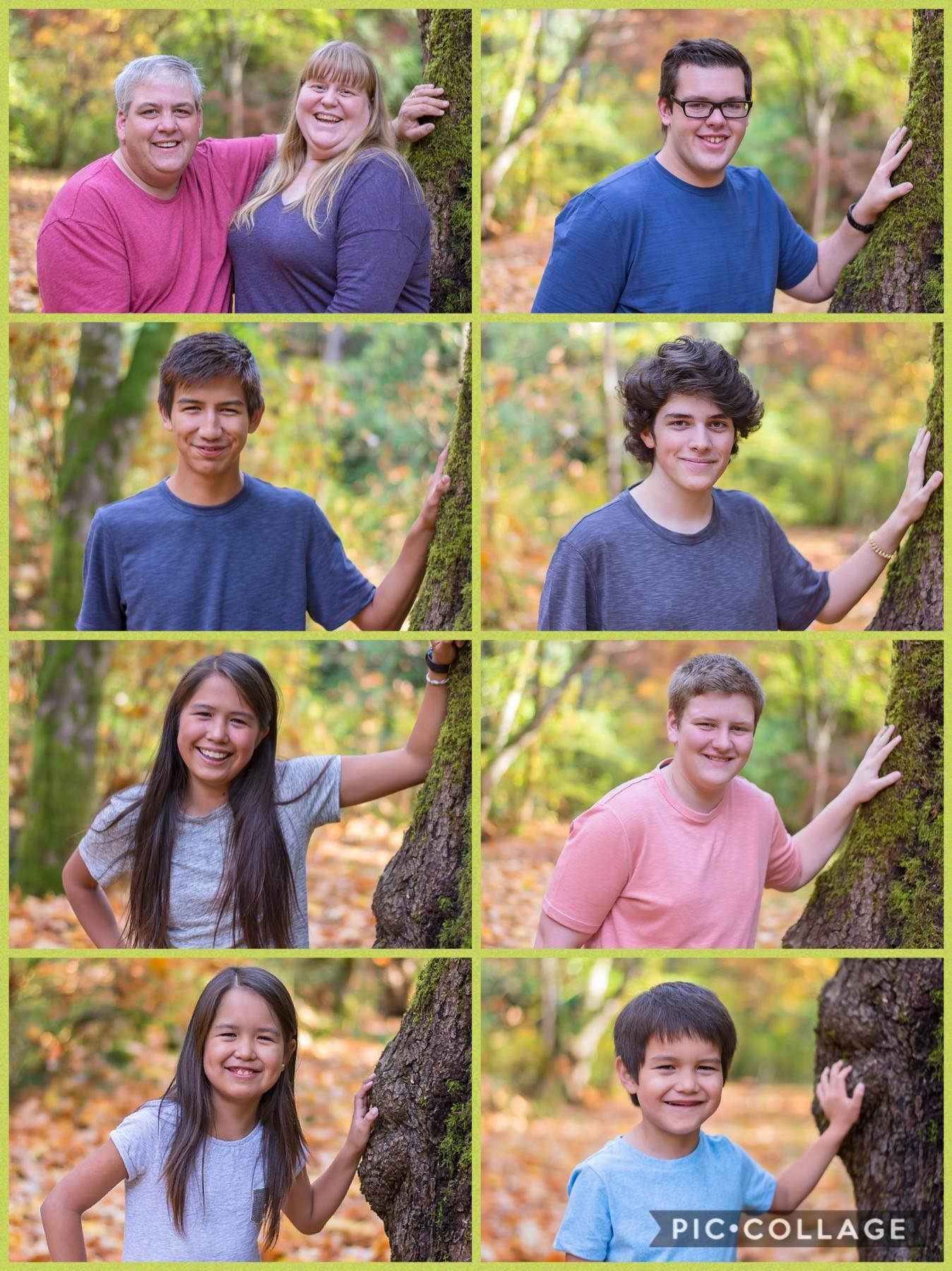 Heather, Glen, and their children