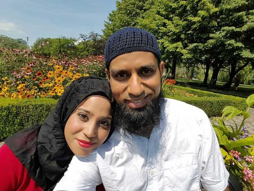 Nazima and Riyad share their adoption story