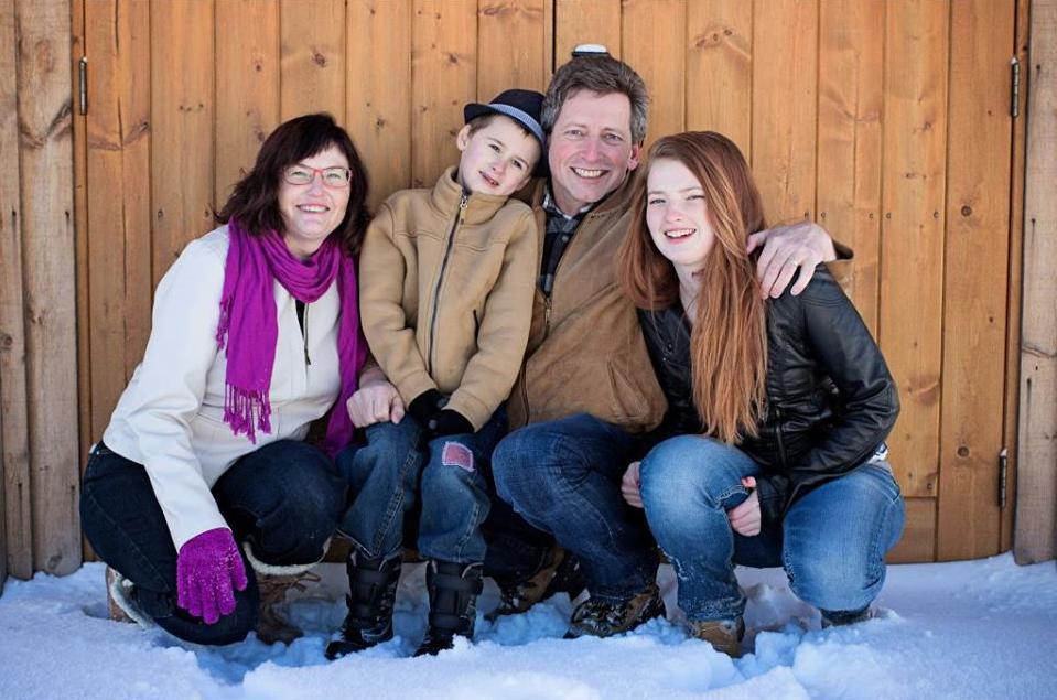 The Forsyth family