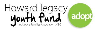 Howard Legacy Youth Fund Bursary